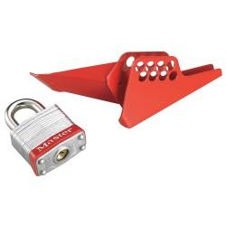 Master Lock - S3476 - Steel Ball Valve Lockoutdevice 1 4 To 1 Valve