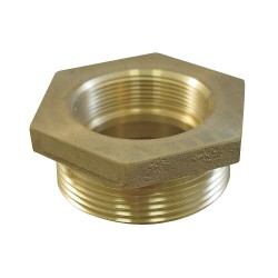 Moon American - 356-0751061 - Fire Hose Hex Bushing Adapter, Nonswivel Adapters Fittings Sub-Category, GH Female x MNPT Connection