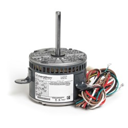 Marathon Electric / Regal Beloit - 048A11O1068 - 1/4 HP OEM Replacement Motor, Permanent Split Capacitor, 1075 Nameplate RPM, 208-230 Voltage