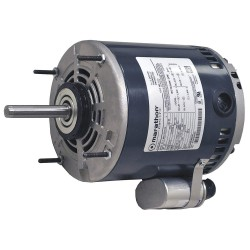 Marathon Electric / Regal Beloit - 048A11O251 - 1/6 HP OEM Replacement Motor, Permanent Split Capacitor, 1075 Nameplate RPM, 115 VoltageFrame 48Z