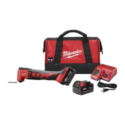 Milwaukee Electric Tool - 2626-22 - Milwaukee 2626-22 M18 18V Lithium-Ion Multi-Tool w/ Batteries
