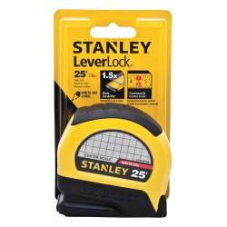 Stanley / Black & Decker - STHT30758L - Stanley Leverlock Centerread Tape Rule 1 X 25'