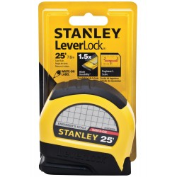 Stanley / Black & Decker - STHT30759L - Stanley Leverlock Engineer's Tape Rule 1 X 25'