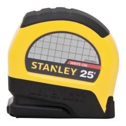Stanley / Black & Decker - STHT30825 - 25 ft. Steel SAE Tape Measure, Black/Yellow