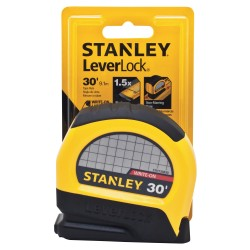 Stanley / Black & Decker - STHT30830 - 30 ft. Steel SAE Tape Measure, Black/Yellow