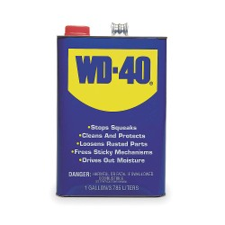 WD-40 - 490118 - Lubricant, -60F to 300 Degrees F, No Additives, 1 gal. Can