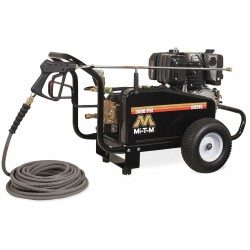 MI-T-M - GC-3004-0MKD - Heavy Duty (2800 to 3299 psi) Diesel Cart Pressure Washer, Cold Water Type, 3.9 gpm, 3000 psi
