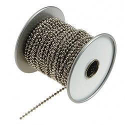 Lucky Line - 32500 - Ball Chain, No. 10, Silver