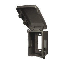 Red Dot - CKPS-BR - Horizontal or Vertical-Mount While In Use Weatherproof Cover, 1-Gang, PVC