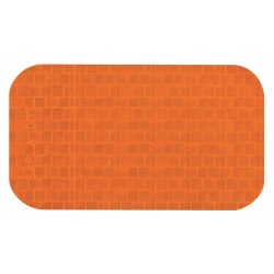 Incom / Top Tape & Label - RR250AM - Reflective Marking Tape, Solid, Rectangle, 2 Width, 1 EA