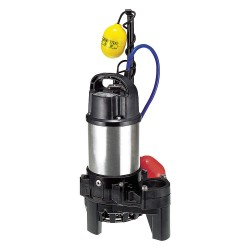 Tsurumi - 50TMA2.4S - 1/2 HP Electric Submersible Submersible Sewage Pump, 115 Voltage, 62 GPM of Water @ 15 Ft. of Head