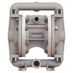 Versa-Matic / Warren Rupp - E5AP5T559C - Aluminum PTFE Single Double Diaphragm Pump, 12 gpm, 125 psi