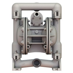 Versa-Matic / Warren Rupp - E1SA5T559C-ATEX - Stainless Steel PTFE Single Double Diaphragm Pump, 49 gpm, 125 psi