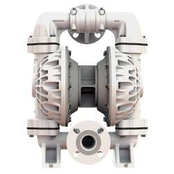 Versa-Matic / Warren Rupp - E4PA5F5T9 - Poly PTFE Single Double Diaphragm Pump, 72 gpm, 100 psi