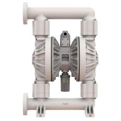 Versa-Matic / Warren Rupp - E2PA5F5T9 - Poly PTFE Single Double Diaphragm Pump, 177 gpm, 100 psi