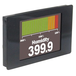 Lascar Electronics - SGD 24-M - Graphics Meter, Multifunction, Panel Pilot Series, 2.4 TFT Screen, 320 x 240 Pixels, 4 to 30 Vdc
