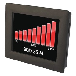 Lascar Electronics - SGD 35-M - Graphics Meter, Multifunction, Panel Pilot Series, 3.5 TFT Screen, 320 x 240 Pixels, 4 to 30 Vdc
