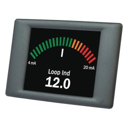 Lascar Electronics - SGD 24-M-420 - Graphics Meter, Panel Pilot Series, TFT Screen, 2.4 , 320 x 240 Pixels, 4 to 30 Vdc, Current Loop