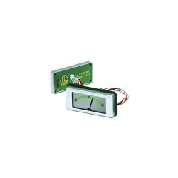 Lascar Electronics - EMA 1710 - Lascar Electronics EMA 1710 Round Hole Mount Panel Voltmeter, Analog Style LCD Display