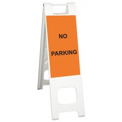 Plasticade / American Louver - 150-WHLGK1093-OBEG - A-Frame, Unrated with Signage, 45 x 3 x 13, White