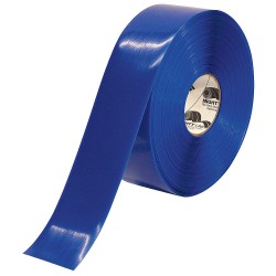 Mighty Line - 3RB - Industrial Floor Tape, Solid, Continuous Roll, 3 Width, 1 EA