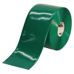 Mighty Line - 6RG - Industrial Floor Tape, Solid, Continuous Roll, 6 Width, 1 EA