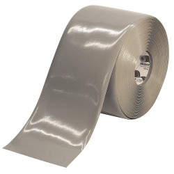 Mighty Line - 6RGRY - Industrial Floor Tape, Solid, Continuous Roll, 6 Width, 1 EA