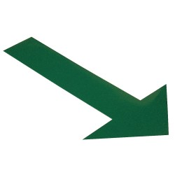 Mighty Line - ARROW10G - Industrial Floor Tape Markers, Solid, Arrow, 6 Width, 50 PK