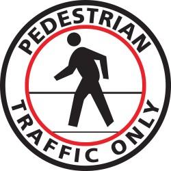 Mighty Line - PEDESTRIANW24 - Pedestrian Traffic, Vinyl, 24 x 24, Adhesive Floor