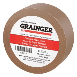 Other - 20PJ16 - Masking Tape, 60 yd. x 2, Brown, 6.10 mil
