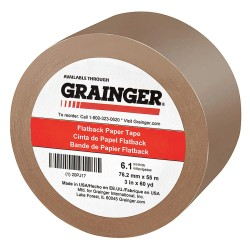 Other - 20PJ17 - Masking Tape, 60 yd. x 3, Brown, 6.10 mil