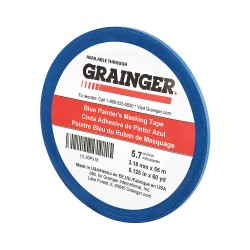 Other - 20PJ18 - Painters Masking Tape, 60 yd. x 1/8, Blue, 5.70 mil