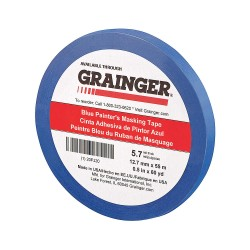 Other - 20PJ20 - Painters Masking Tape, 60 yd. x 1/2, Blue, 5.70 mil