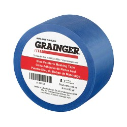 Other - 20PJ25 - Painters Masking Tape, 60 yd. x 3, Blue, 5.70 mil