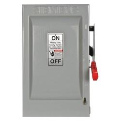 Siemens - HF222N - Safety Switch, 1 NEMA Enclosure Type, 60 Amps AC, 15 HP @ 240VAC HP