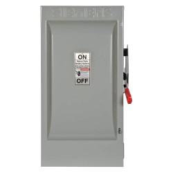 Siemens - HF224N - Safety Switch, 1 NEMA Enclosure Type, 200 Amps AC, 60 HP @ 240VAC HP