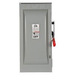 Siemens - HF223NR - Safety Switch, 3R NEMA Enclosure Type, 100 Amps AC, 30 HP @ 240VAC HP