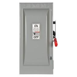 Siemens - HF363 - Safety Switch, 1 NEMA Enclosure Type, 100 Amps AC, 75 HP @ 600VAC HP