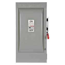 Siemens - HF364 - Safety Switch, 1 NEMA Enclosure Type, 200 Amps AC, 150 HP @ 600VAC HP