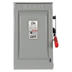 Siemens - HF362R - Safety Switch, 3R NEMA Enclosure Type, 60 Amps AC, 50 HP @ 600VAC HP