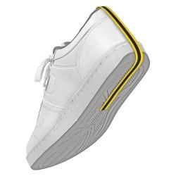 Desco - 5402 - Disposable Foot Grounder, Yellow/Black
