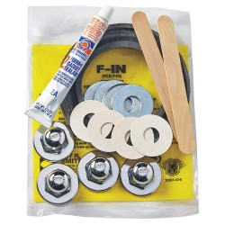 Jay R. Smith - F-1N - Finish Trim Kit with Neoprene Gaskets, Neoprene, For Use With 0200, 0300, 0400, 0500, 0600 Series