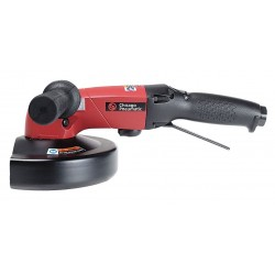Chicago Pneumatic - CP3850-85AB7V - 8500 rpm Free Speed, 7 Wheel Dia. Angle Air Grinder, 2.80 HP