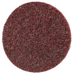 Scotch-Brite - 33791 - 2 Non-Woven Quick Change Disc, TR Roll-On/Off Type 3, 80, Medium, Aluminum Oxide, 1 EA