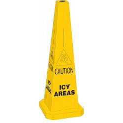 Brady - 103682 - Icy Conditions, Plastic, 35 x 12