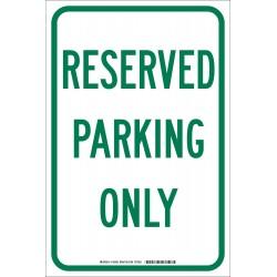 Brady - 103693 - Parking, No Header, Aluminum, 18 x 12, High Intensity Prismatic
