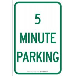 Brady - 103697 - Parking, No Header, Aluminum, 18 x 12, High Intensity Prismatic