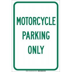 Brady - 103699 - Parking, No Header, Aluminum, 18 x 12, High Intensity Prismatic