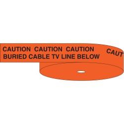 Brady - 63009 - Underground Warning Tape, 1000 ft.