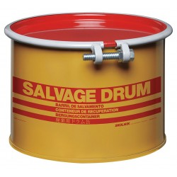 Skolnik - HM0501 - 5 gal. Yellow Steel Open Head Salvage Drum